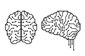 Line electronic brain