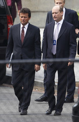 BP executives arrive at the White House in Washington for their meeting with U.S. President Barack Obama