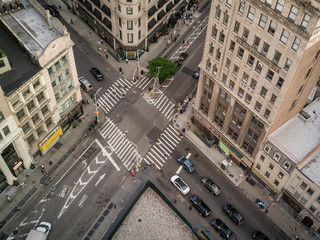 Aerial Manhattan View