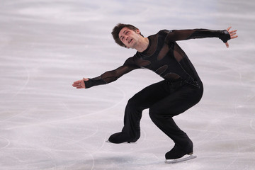 Joubert of France performs his men's short program at the Bompard Trophy ISU Grand Prix of figure skating competition in Paris