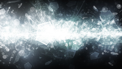 SILVER CRYSTAL FRAGMENT AND COSMIC EFFECT