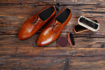 Elegant shoes and care products