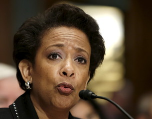 United States Attorney General Lynch testifies before a Senate Appropriations subcommittee in Washington