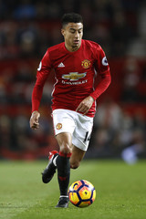 Britain Football Soccer - Manchester United v West Ham United - Premier League - Old Trafford - 16/17 - 27/11/16Manchester United's Jesse Lingard Action Images via Reuters / Carl RecineEDITORIAL USE ONLY. No use with unauthorized audio, video, data, fi