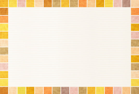 秋 和紙 フレーム 背景