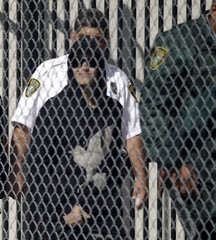 Teen pop star Justin Bieber departs a Miami-Dade County jail in Miami