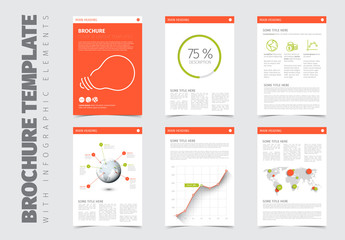 Six Modern Brochure Layouts