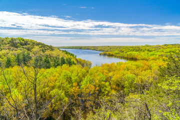 The St. Croix River Valley at Kinnickinnic State Park