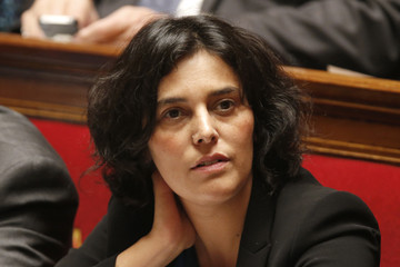 French City Policy junior minister Myriam El Khomri attends the questions to the government session at the National Assembly in Paris