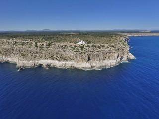 Faro de Cap Blanc, Mallorca, España