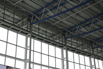 steel truss structure roof