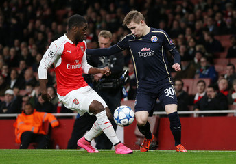 Arsenal v Dinamo Zagreb - UEFA Champions League Group Stage - Group F