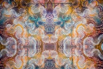 multicolor hippie background