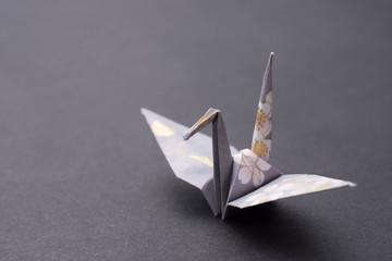日本の折り紙 鶴 origami