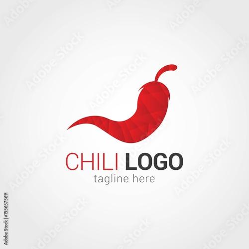 Chili Logo Design Template\