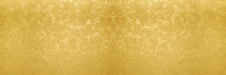 金のバナー素材