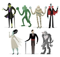 great classic monsters