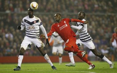 Liverpool v FC Girondins de Bordeaux - UEFA Europa League Group Stage - Group B