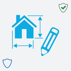 Home vector web icon