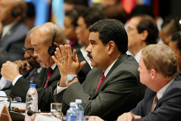 Venezuela's President Nicolas Maduro attends the opening of the 7th Summit of Heads of State for the Association of Caribbean States in Havana, Cuba