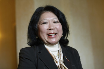 Indonesia's Minister of Tourism and Creative Economy Mari Pangestu poses for a picture in Ottawa