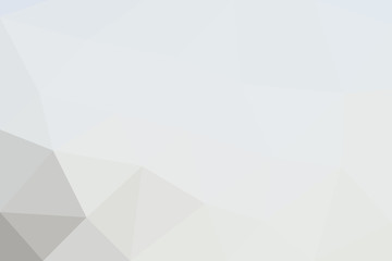 Light-colored vector background in low poly style