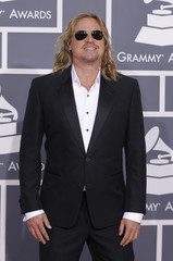 Actor Val Kilmer arrives at the 54th annual Grammy Awards in Los Angeles