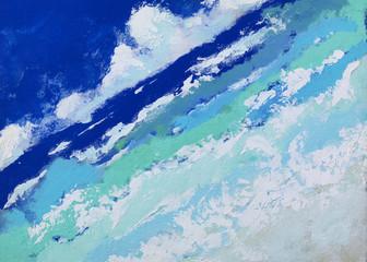 絵の具で描いたテクスチャーのある高解像度の背景0096