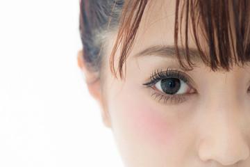 カラーコンタクト・瞳クローズアップ