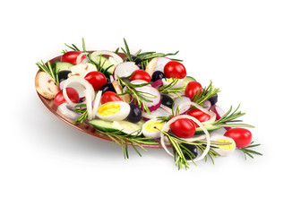 Salad of tomatoes and rosemary