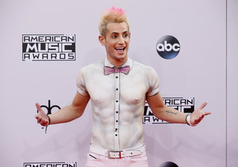 Actor Frankie J. Grande arrives at the 42nd American Music Awards in Los Angeles