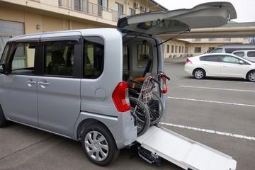 車椅子格納イメージ