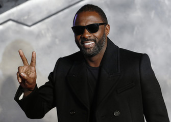 """Actor Idris Elba arrives for the world premiere of """"Thor : The Dark World"""" at Leicester Square in London"""