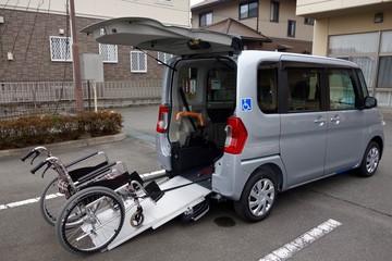 車椅子乗車イメージ