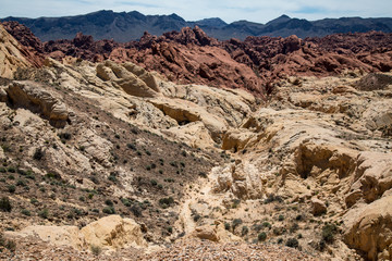 Valley of Fire - Mountains of Colour