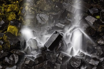 Svartifoss waterfall, Skaftafell National Park, Iceland
