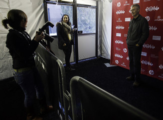 """Steve James attends the premiere of the film """"Life Itself"""" at the Sundance Film Festival in Park City"""