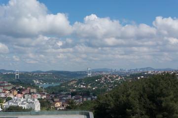 View of Yavuz Sultan Selim Bridge