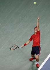 Tennis - Japan Open men's Singles Round 1 match