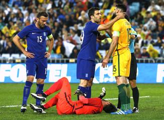 Football Soccer - Australia v Greece - Stadium Australia - Sydney, Australia