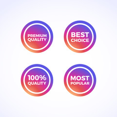 Premium Quality, Best Choice, 100% Quality & Most Popular Round Labels