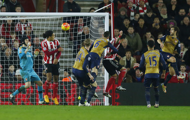 Southampton v Arsenal - Barclays Premier League