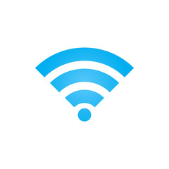 WIFI signal icon vector, wireless network solid logo illustration, colorful pictogram isolated on white