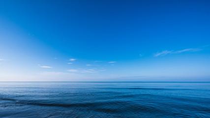 Poster Mer / Ocean Blue dark and deep ocean
