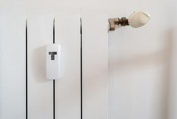 Termosifone a parete con regolatore