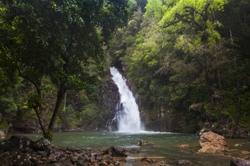 Yong Waterfall National Park is one of the attractions of Nakhon SI thammarat province.