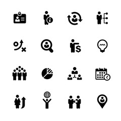 Efficient Business Icons // Black Series - Vector icons for your digital or print projects.