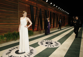 Adams arrives at the 2014 Vanity Fair Oscars Party in West Hollywood