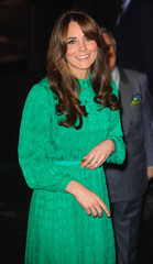 Britain's Catherine, Duchess of Cambridge arrives to officially open the new Treasures Gallery at the Natural History Museum, in central London