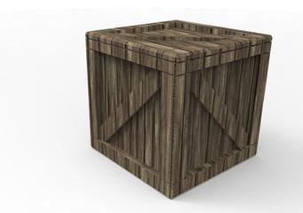 Frame Wooden Box 3D